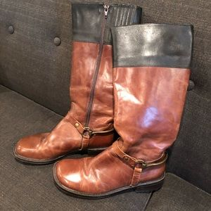 Matisse leather riding boots